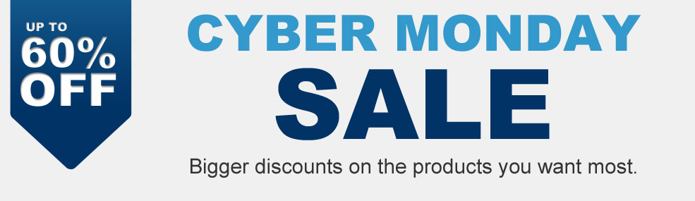 Cyber Monday Sale | Get up to 60% Off Sitewide!