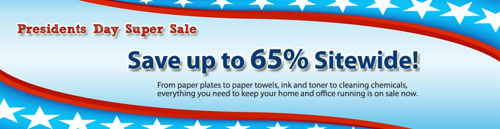 Prices have been reduced up to 65% off retail during this week's President's Day SUPER Sale. No coupon needed.