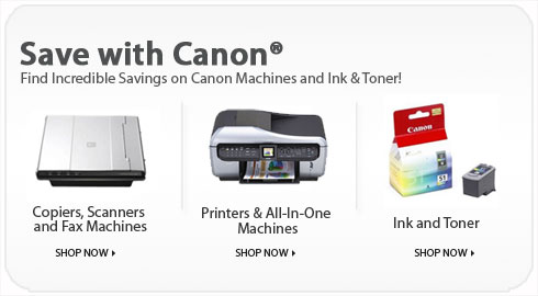 Save with Canon