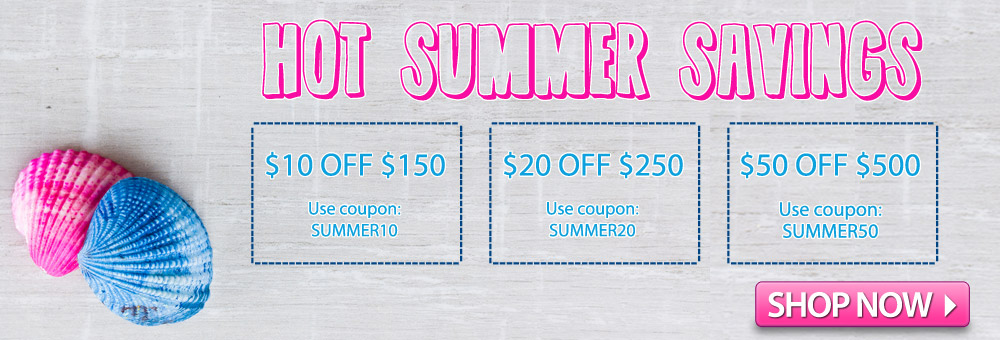 Hot Summer Deals are Here!