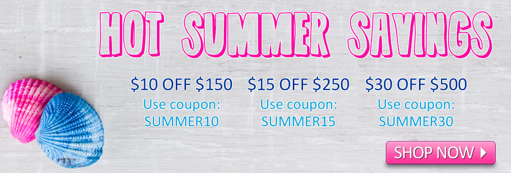 Hot Summer Savings Deals!