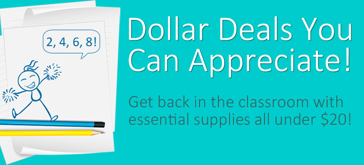 Get back in the classroom with essential supplies all under $20!