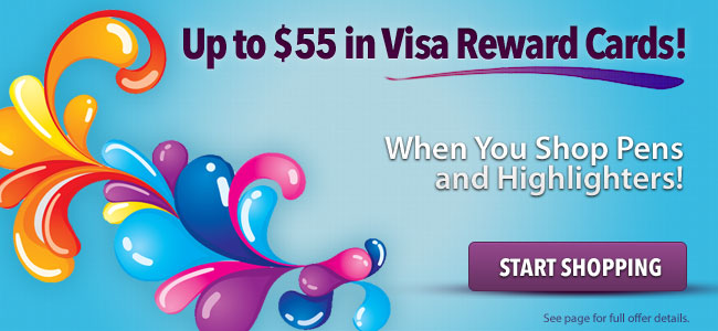 Up to $55 in Visa Reward Cards!
