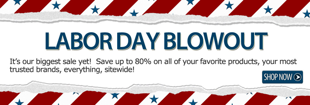 LABOR DAY BLOWOUT | Save up to 80% sitewide!