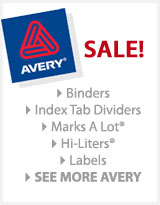 Avery Sale Side Banner