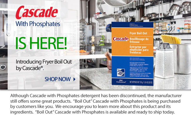 Cascade with Phosphates is here!