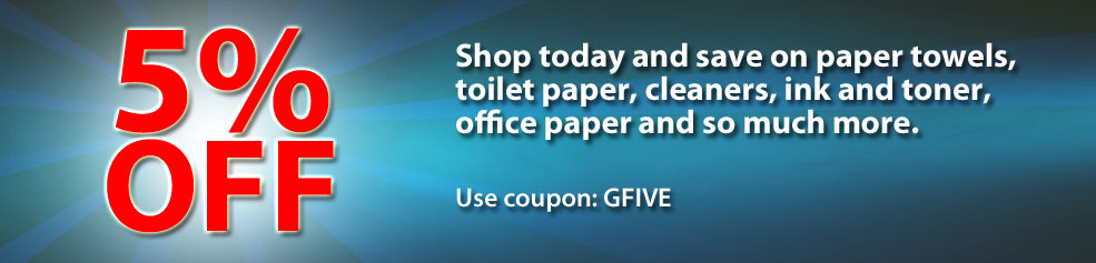 Shop today and save 5% on your order | Use coupon GFIVE.