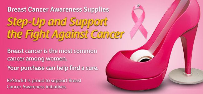 Think Pink and Get Breast Cancer Awareness Supplies