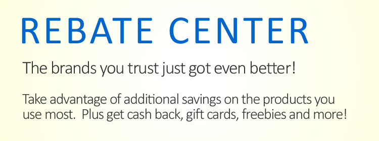 Get cash back, gift cards, freebies and more!