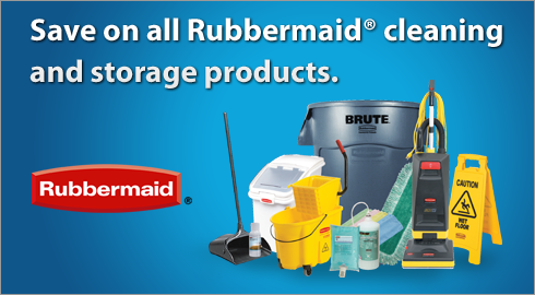 Rubbermaid Cleaning and storage products
