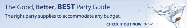 The Good, Better, BEST Party Guide. Shop Now!