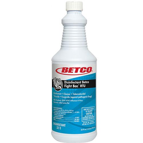 Betco Disinfectant/Cleaner, Trigger Spray, RTU, 32 oz -  3111200EA