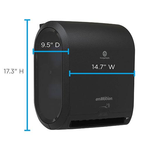 enMotion 59462A Dispenser 14.700 x 9.500 x 17.300 Black