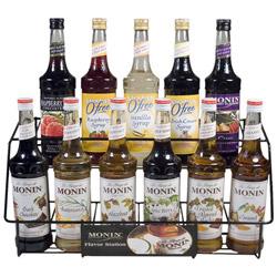 Monin 11 Bottle Rack