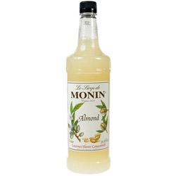 Monin Almond Drink Syrup, 1 Liter
