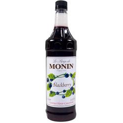 Monin Blackberry Drink Syrup, 1 Liter