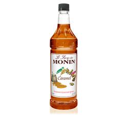 Monin Caramel Drink Syrup, 1 Liter