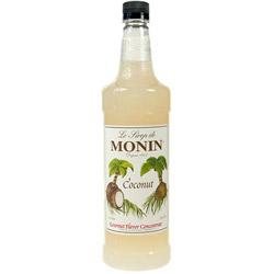 Monin Coconut Drink Syrup, 1 Liter