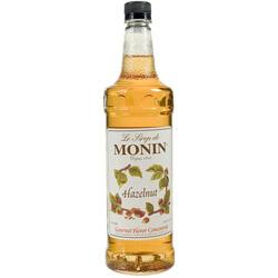 Monin Hazelnut Drink Syrup, 1 Liter