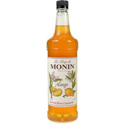 Monin Mango Drink Syrup, 1 Liter
