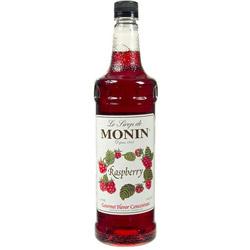 Monin Raspberry Drink Syrup, 1 Liter