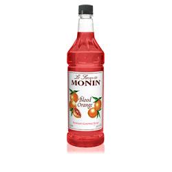 Monin Blood Orange Drink Syrup, 1 Liter
