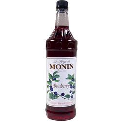 Monin Blueberry Drink Syrup, 1 Liter