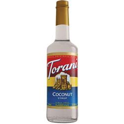 Torani® Coconut Syrup PET, 750 mL