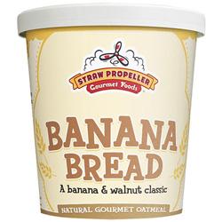Straw Propeller Banana Bread Oatmeal