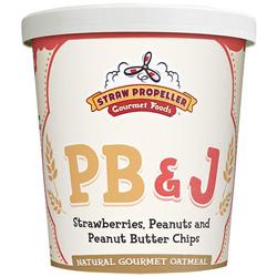 Straw Propeller PB & J Oatmeal