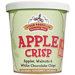 Straw Propeller Apple Crisp