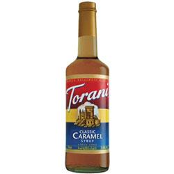 Torani® Caramel Syrup PET, 750 mL
