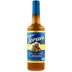 Torani® Hazelnut Syrup Sugar Free PET, 750 mL