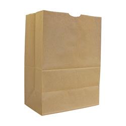 AJM Packaging Kraft Grocery Bag, 57#, Natural