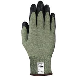 Ansell PowerFlex Gloves, Size 9, Black