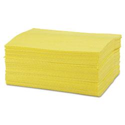 Chicopee Masslinn Dust Cloths, 24 x 16, Yellow, 400/Carton