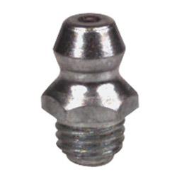 Alemite Hydraulic Fittings, Taper Thread, 1/4 in-28