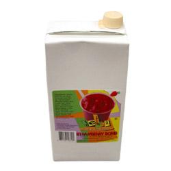 Oregon Chai 64 Ounce Jet Tea Strawberry Bomb Smoothie Mix