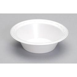 Genpak Laminated Foam Bowl, 5 OZ, White