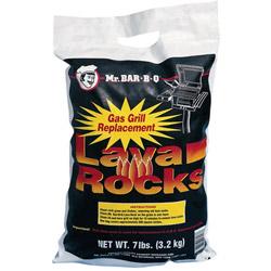 Mr Bar-B-Q Lava Rocks, 7 lbs.