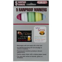 Mr Bar-B-Q Rain Proof 5 Color Marker