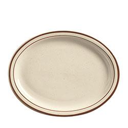 World Tableware Desert Sand Platter NR 11-1/2 in