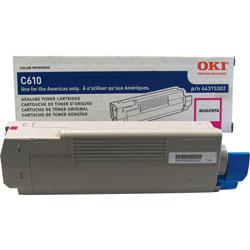 Okidata 44315302 Toner Cartridge - Magenta