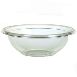 Sabert FreshPack Plastic Round Bowl, 8 OZ, Clear