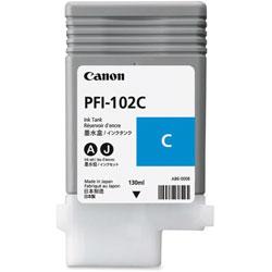 Canon Ink, Cyan, Pfi102c, 130ml