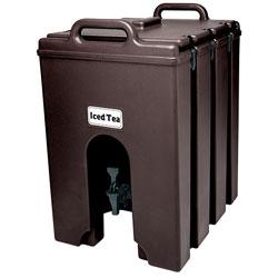 Cambro Camtainer® 10 Gallon Capacity Dark Brown