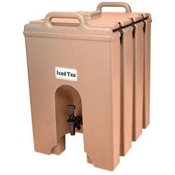 Cambro Camtainer® 10 Gallon Capacity Coffee Beige