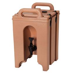 Cambro Camtainer® 1 Gallon Capacity Coffee Beige