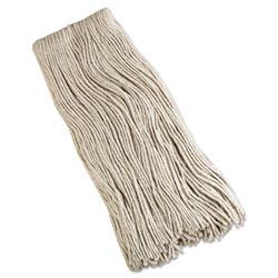 Mops & Brooms Cut-End Mop Head, Cotton, 32 Oz, White