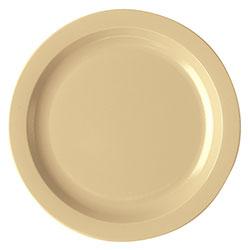 Cambro Dinnerware Plate Narrow Rim 10 in Beige